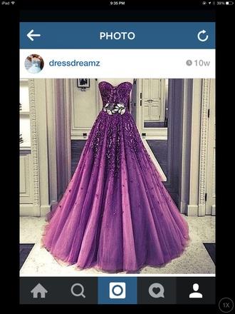 dress purple dress fancy posh prom dress prom dresses