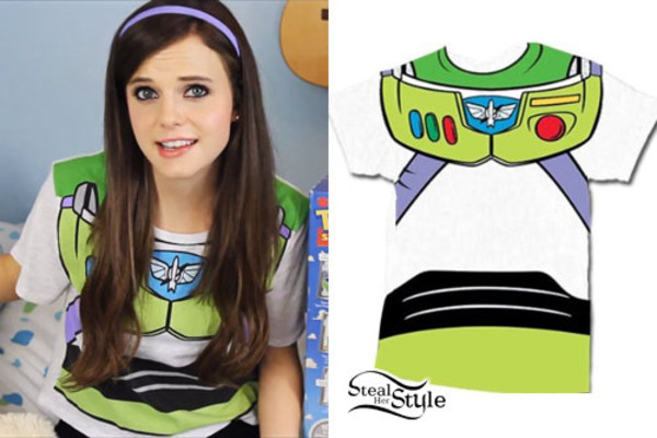t-shirt buzz lightyear Tiffany Alvord