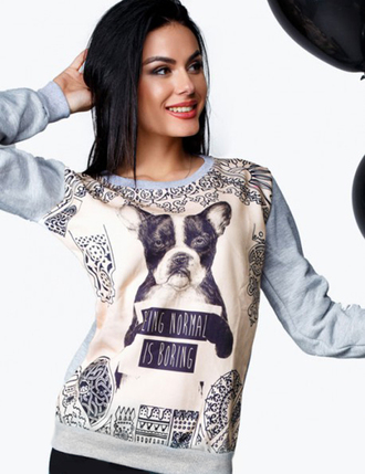 sweater zefinka sweatshirt 3d sweatshirts 3d pattern dog