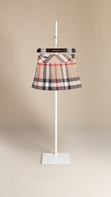 Check Pleated Kilt | Burberry