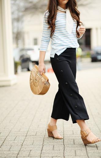 dress corilynn blogger top bag shoes scarf sunglasses