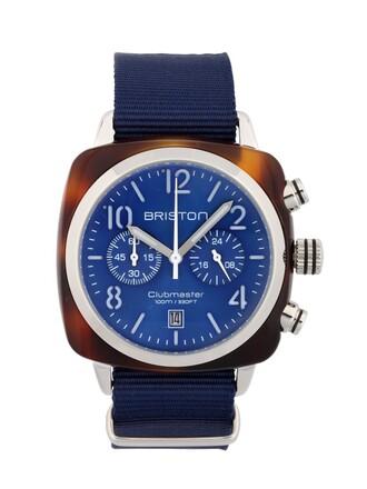 classic watch blue jewels