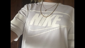 shirt nike white tumblr dress cute cross