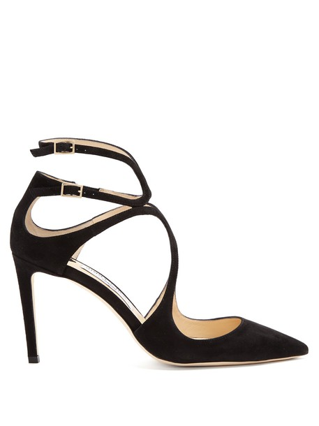 Jimmy Choo suede pumps pumps suede black shoes