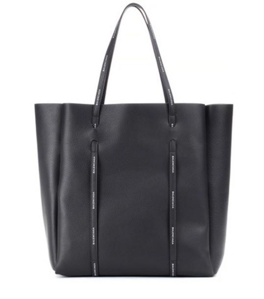 Balenciaga leather black bag