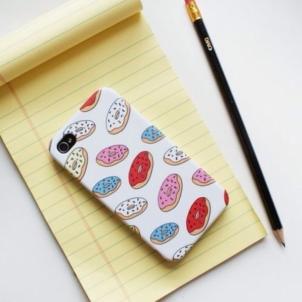 jewels donut iphone case