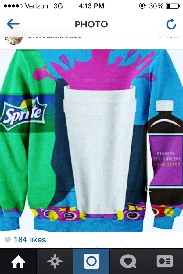 sweater dirty sprite