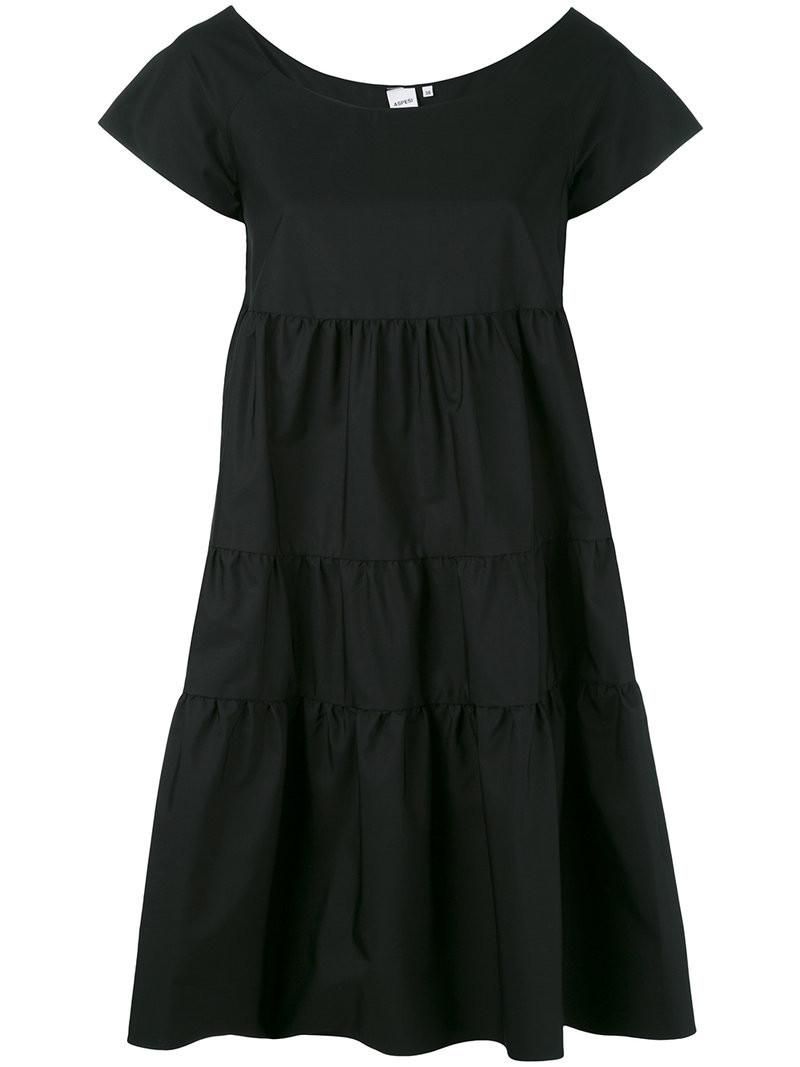knot trim dress  Aspesi