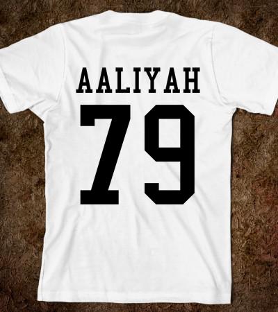 Aaliyah 79 Tee