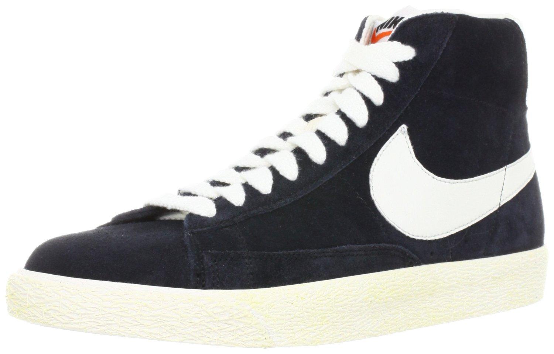 huge discount bc05e f8a39 Amazon.com  NIKE NIKE BLAZER MID PRM VNTG BLACK WHITE 538282-040 (US7.5)   Shoes