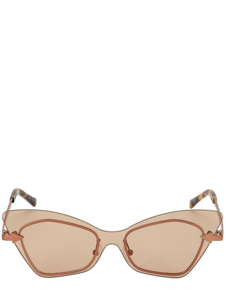 KAREN WALKER Mrs Brill Crazy Tort Sunglasses