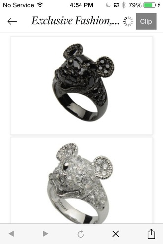jewels mickey mouse style