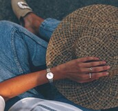 jewels,tumblr,ring,hat,jewelry,silver jewelry,silver ring,watch,silver watch,sun hat,accessories,Accessory