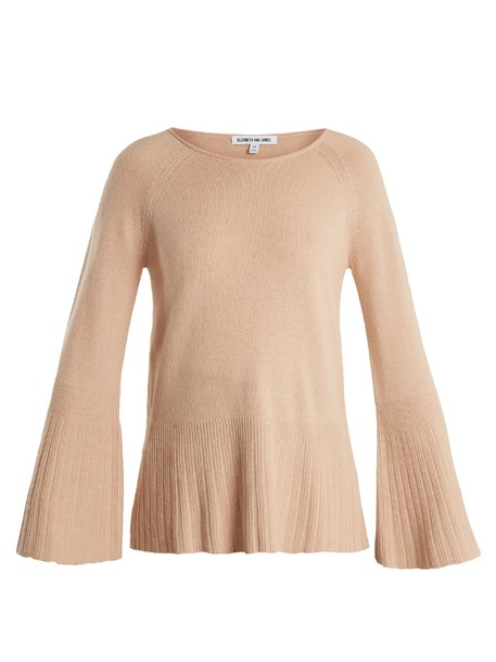 Elizabeth and James sweater knit nude