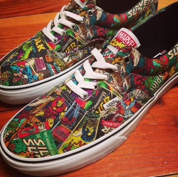 shoes vans comcs i want these shoes. marvel asdfghjkl perfect help me to find