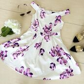 dress,tea party,dresscute,fashion,style,floral,flowers,love,party,wedding,bride,graduation,happy,bellexo