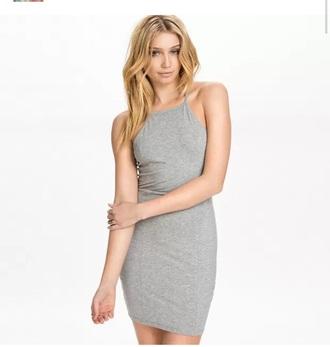 dress tight grey