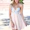 Off-white sequin dress - nude strapless dress with sequin | ustrendy