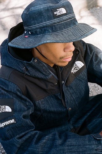 coat north face supreme supreme clothing