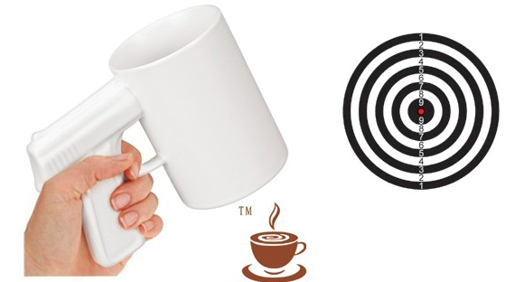INFMETRY:: Handgun Coffee Cup - Mugs - Home&Decor