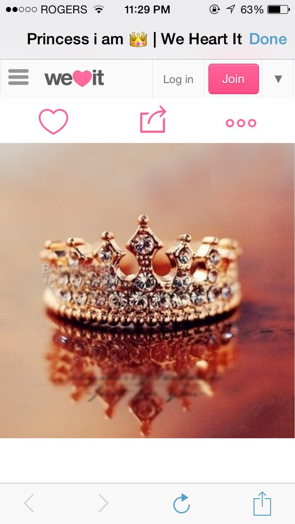 jewels crown ring sparkle jewelry sparkle glitter gold
