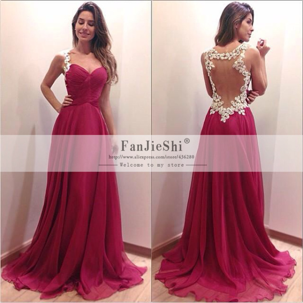 attractive safe sweetheart floor length prom dress