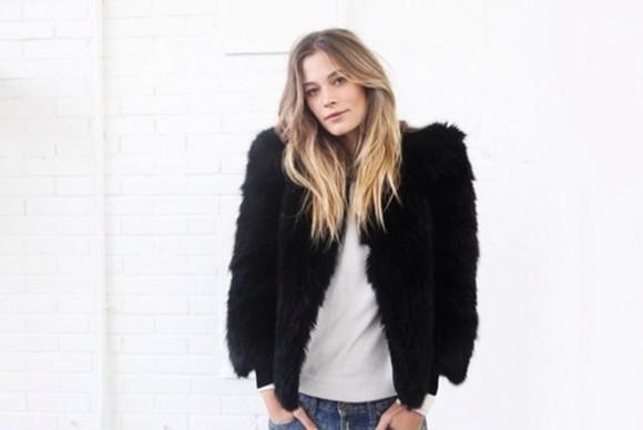 fur jacket lamb