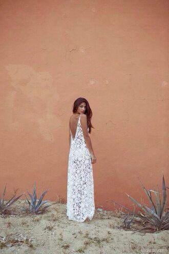 white dress lace dress white lace