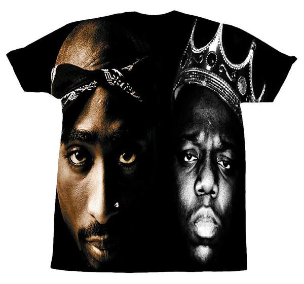 t-shirt tupac 2pac biggie biggie smalls biggie rapper hip hop tupac shirt black t-shirt