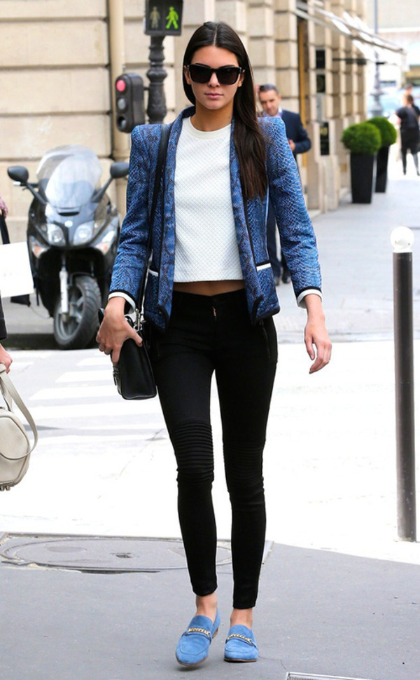 jeans black jeans kendall jenner i love this white tee shoes jacket shirt
