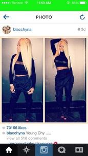 shirt,blac chyna,mesh,black,black shirt,black crop top,crop tops,pants