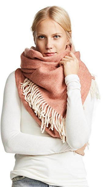 Madewell scarf red