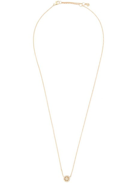 Astley Clarke mini women necklace pendant gold grey metallic jewels