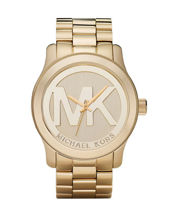 Michael Kors Logo Watch - Michael Kors
