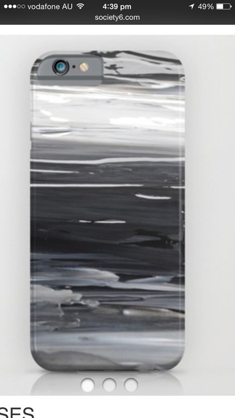 phone cover grey wet paint iphone 6 case iphone 5 case phone abstract abstract print