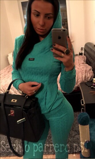 jumpsuit mint hoodie tracksuit two-piece skinny jeans skinny pants sweater sexy pants top knit shirt trendy fashion selfie tumblr clothes tumblr girl girl girly wishlist girly mint sweater instagram bag sportswear winter outfits tumblr clothes jewerly