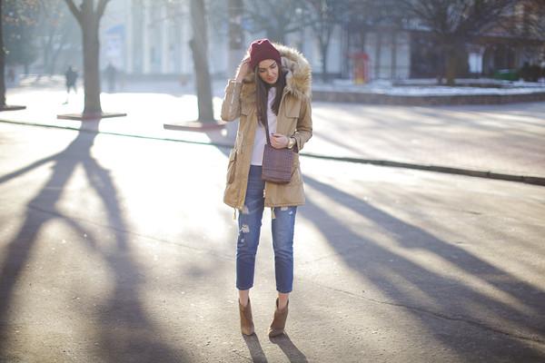 fashion agony coat t-shirt jeans hat bag shoes jewels