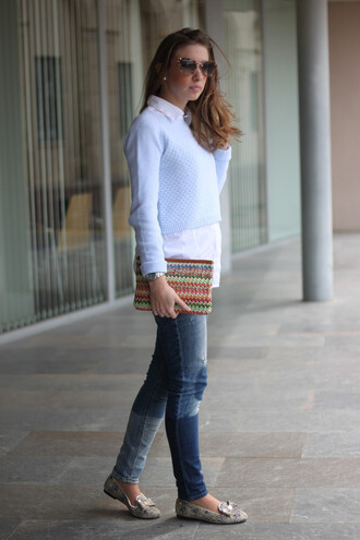say queen sweater shirt jeans sunglasses bag shoes