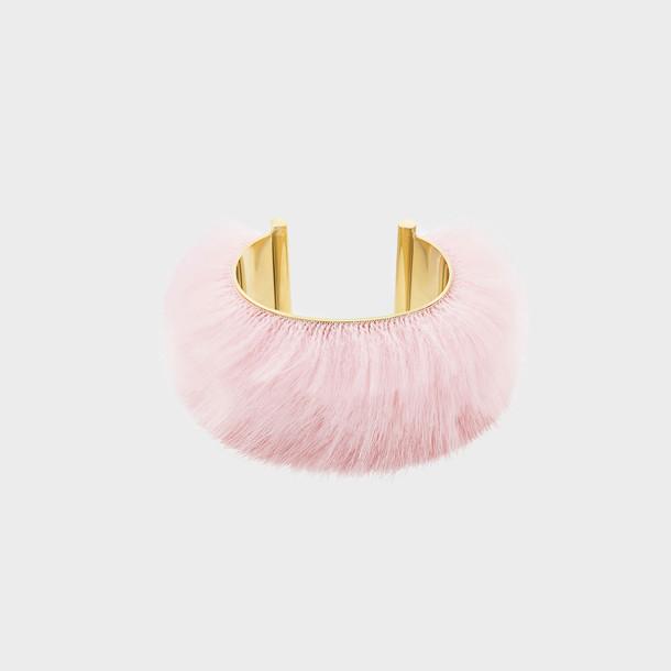 cuff pink jewels