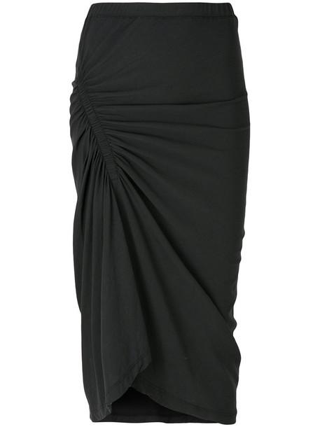 James Perse skirt women cotton grey