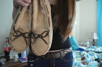 shoes moccasins ugg boots fluffy fall outfits winter outfits
