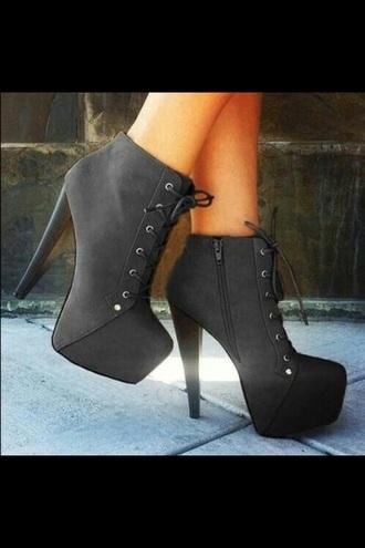 shoes high heels booties