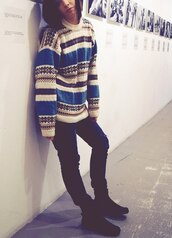 old looking,pullover,sweater,vintage