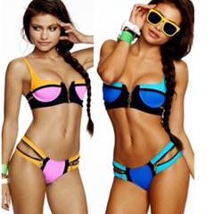 In Stock Zena Zip Bikini