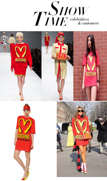 shirt t-shirt fashion sexy mcdonald's