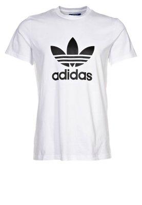 adidas Originals ADI TREFOIL - Print T-shirt - white - Zalando.co.uk
