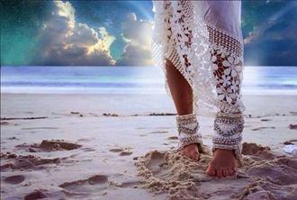 jewels foot feet beach boho socks feet jewels beach wedding