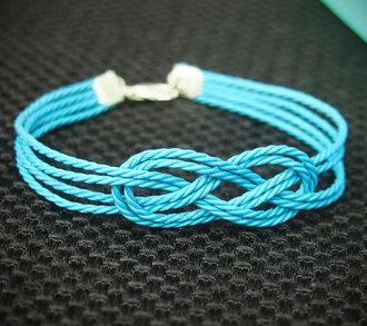 bracelets rope jewels knot bracelet women
