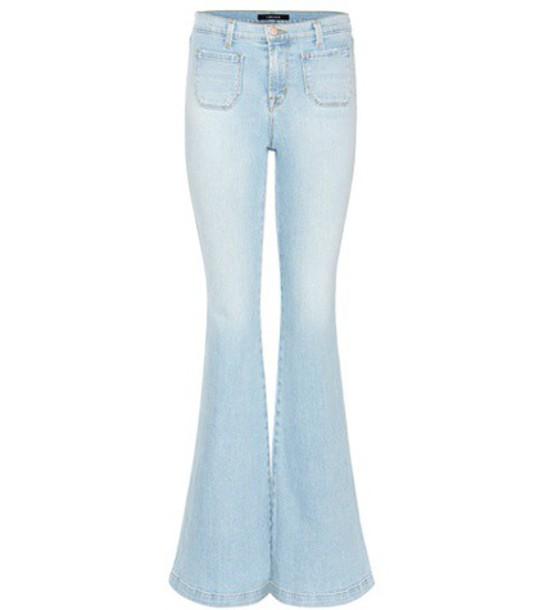 J BRAND jeans beach high blue