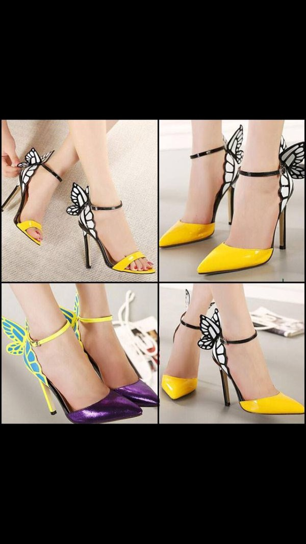 shoes butterfly shoes